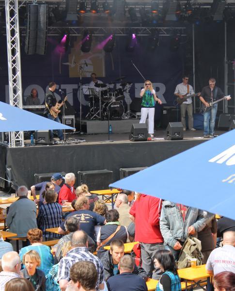 Hanseatische Brauerei Rostock beim blaumachen dem KTV-Fest 2011