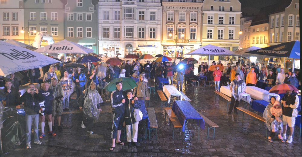 Marathon-Nacht Rostock 2011 - erste Eindrücke
