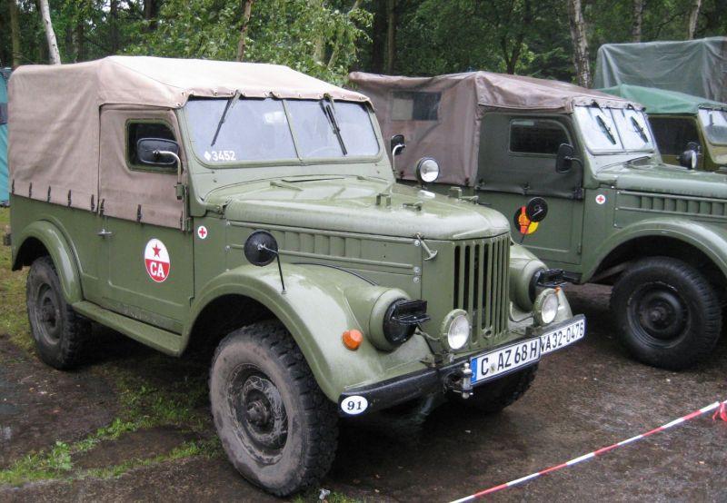 10. Ostblockfahrzeugtreffen 2011 in Pütnitz